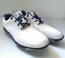 FootJoy Fj Junior Golf Shoes 45023 White / Navy Blue / Gray Youth Size: 6M
