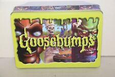R. L. Stine Goosebumps Book Metal Carrying Tin(no book) Goose Bumps Retro Scream