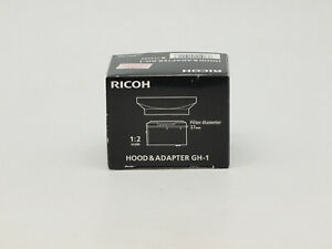 Ricoh GH-1 Lens Hood & Adapter for GR Digital and GR Digital II Cameras