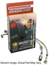 Goodridge 20004 G-Stop SS Brake Line Kit for 98-02 Honda Accord Front & Rear