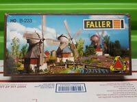 Faller 130233 H0 Motorized Windmill NIB Factory Sealed B-233 Made in Germany