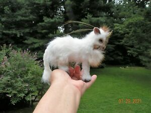 OOAK Miniature Baby Unicorn Poseable Artist Sculpted Fantasy Fawn by Angelica