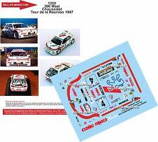 DÉCALS 1/43 réf 1252 PEUGEOT 306 Maxi Chaussalet Tour de la Reunion 1997