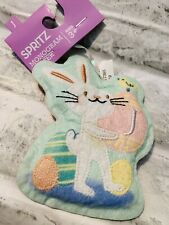 "Spritz Monogram Easter Bunny Letter ""J� Ages 3+ Indoor decorative Ornament New"