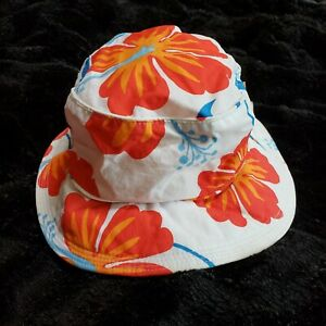 Baby Gap Hawaiian Floral Bucket Hat Toddler Girls 18-24 months