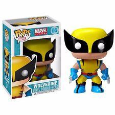 Funko Pop! #05 Marvel UNIVERSO Wolverine da Collezione in Vinile Bobble Testa Figura