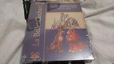 La belle et le clochard 1 et 2 Walt Disney- coffret prestige 2 Blu-ray