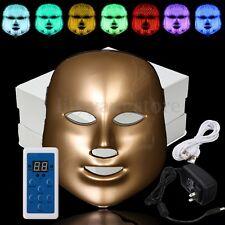 7 Colors LED Light Photon Electric Facial Mask PDT Skin Rejuvenation Therapy