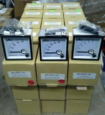 Panel Mount DC Ammeters, 72 x 72mm, 45pcs