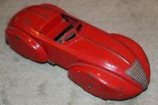 RARE 1930's Wyandotte Zephyr Operational Pull Back Toy Car USA Tin Plate V. Good