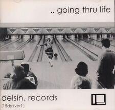 Various Electronica(CD Album)..Going Thru Life-Delsin-15dsr/var1-Hollan-New