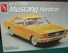 AMT 1964 1/2 FORD MUSTANG PLASTIC MODEL KIT 1/16 RARE! SEALED BOX