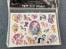 My little pony Tattoos Party supplies Loot bag fillers girls Tattoos my pony
