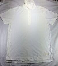 MEN TRUE RELIGION  Polo TOP NEW Shirt Horseshoe Buddah Collard Button.