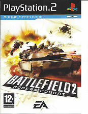 BATTLEFIELD 2 MODERN COMBAT for Playstation 2 PS2 - with box & manual - PAL