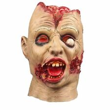 Halloween Mask Horror Latex Vampire Costume Zombie Scared Ghost Head Scary Clown
