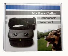 Rechargeable Anti Bark No Barking Tone Shock Training Collar fr Small Medium Dog