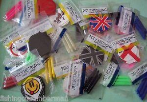 FLIGHT PROTECTORS-10 sets-*Dee.P.Dees* assorted colours-.