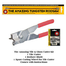 2 x Amazing tile & glass cutter kits cuts wall floor tiles glass mirror