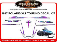 1997 POLARIS XLT TOURING DECAL KIT INDY INCLUDES IFS DECALS shroud  graphic
