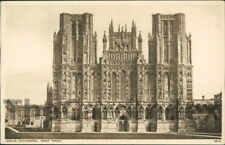 WELLS Cathedral Postcard nr Street SOMERSET Photochrom Co. Ltd., The