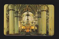 Interior view of the Cathedral of Guadalajara Jalisco  Mexico postcard