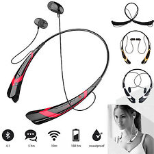 A2DP Wireless Bluetooth Headset Stereo Earbuds Earphone For iPhone LG Nokia HTC