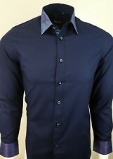 MENS PARTY DRESS SHINY COLLAR  LONG SLEEVE FORMAL SHIRT WAS £29.99 TO 16.99(320)