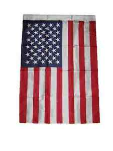 "28x40 USA US American America Sleeved Garden Flag 28""x40"""