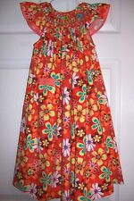 Pre-owned Smocked Dress by Amanda Remembered Size 4 Smocked Colorful Flowers