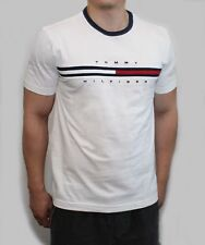 New Tommy Hilfiger Men Classic Fit Crew Neck Logo Tee Shirt T-Shirt