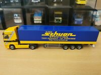 (P10) Herpa LKW H0 1:87 MB Actros Sattelzug Spedition Alfred Schuon