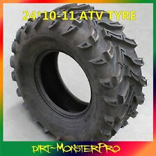 """4PR 24x10-11"""" inch Rear Tubeless Tyre for Honda TRX 400 Rancher AT 4WD 2004-2005"""