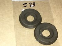 Corvette door glass widow handle crank bezel spacer 68,69,70,71,72,73,74-77 pair