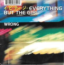 CD SINGLE 2 TITRES--EVERYTHING BUT THE GIRL--WRONG--1996