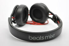 beats mixr Black and red headphones (wired)