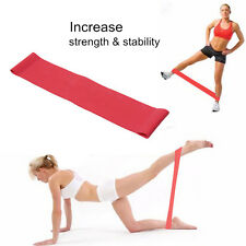 Resistance Loop Band Exercise Yoga Bands Rubber Fitness Training Strength Light