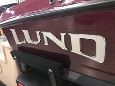Lund Raised Silver/Chrome Decals