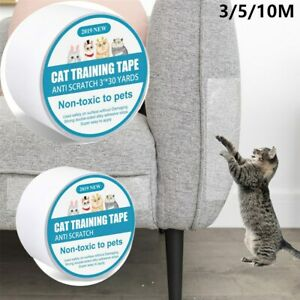 3-10M Pet Cat Anti-Scratch Double-sided Tape Roll Sofa Protector Sticker Strip