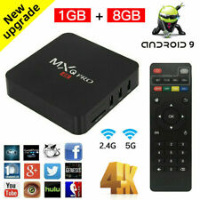 TV BOX SMART Android 9.0 2019 4K MXQ Pro WiFi Quad Core 3D Media Player