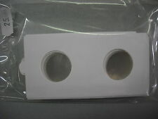 SAFE confezione da 25 OBLO' tradizionali x MONETE fino a 25 mm. esterno 50x50