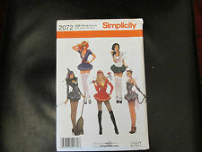 Simplicity Sewing Pattern 2072 Misses Costumes