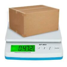 66 Lb X 01oz Digital Shipping Scale With Ac Adapter Post Office Postal Scale