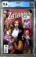 Zatanna #8 Stephanie Roux Cover CGC 9.6 DC Comics 2011