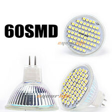 Ultra Bright MR16 3528 60SMD 4W LED Spotlight Warm White Lamp Bulb 220V T1905