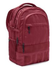 Victorias Secret PINK COLLEGIATE BACKPACK DESIRE DEEP RED - BRAND NEW