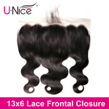 13x6 Lace Frontal Closure With Deep Part 8-18inch Body Wave Brazilian Human Hair