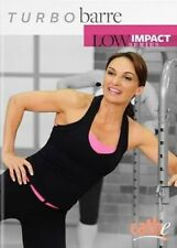 CATHE FRIEDRICH LOW IMPACT SERIES TURBO BARRE DVD NEW SEALED WORKOUT EXERCISE