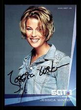 Jessica Winter SAT 1 Autogrammkarte TOP ## BC 73793 D