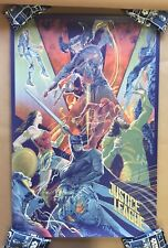 Justice League Screen Print Poster #111/300 by Mondo Artist Rich Kelly